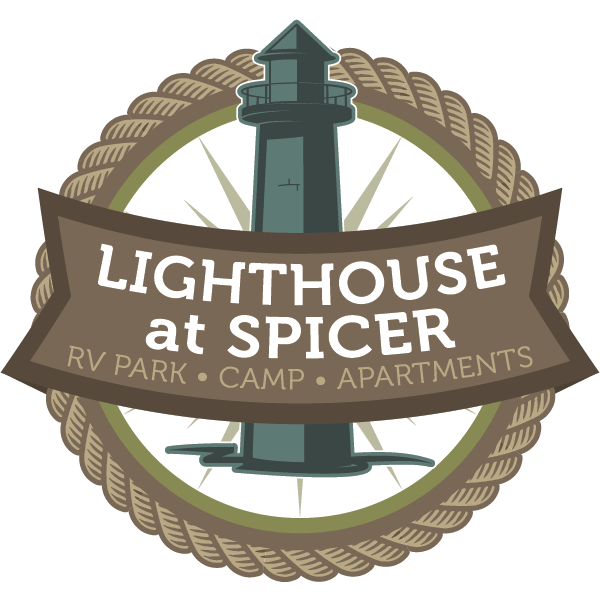 lighthouse at spicer logo